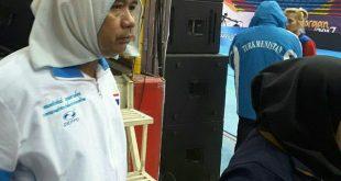 جنجال مرد زن نما در مسابقات بانوان